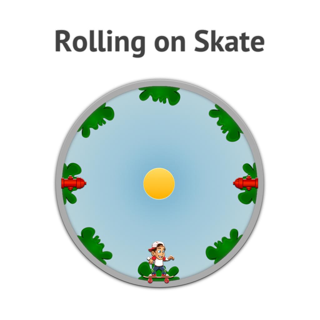 Rolling on Skate